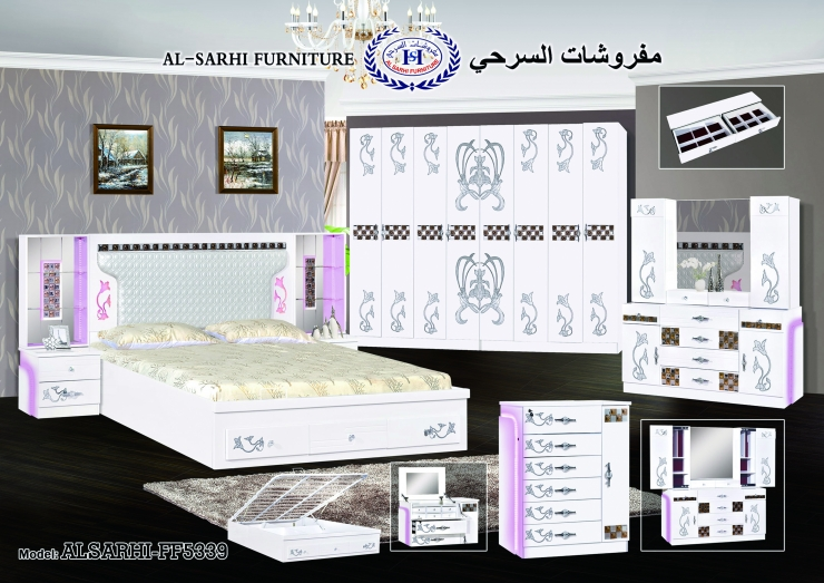 غرف نوم مزوج   مفروشات السرحي   Alsarhi Furniture